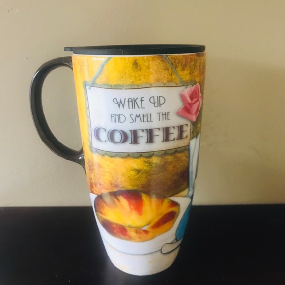 c0de59fe035 Cypress Home Wake Up And Smell The Coffee Mug